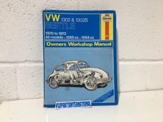 VW Beetle Super Beetle 1302 1302S Owners Workshop Manual Haynes 1970-1972