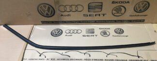 VW Vento Roof Rubber Rain Gutter Molding Satin Black Right OS New Genuine NOS OEM VW Part
