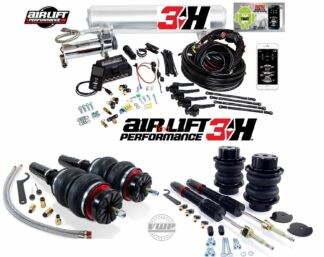 """Audi A6 A7 S6 S7 RS6 RS7 Q5 SQ5 C7 Air Lift 3H 1/4"""" Digital Air Ride Management with Performance Series Front and Rear Air Ride Suspension Kit"""