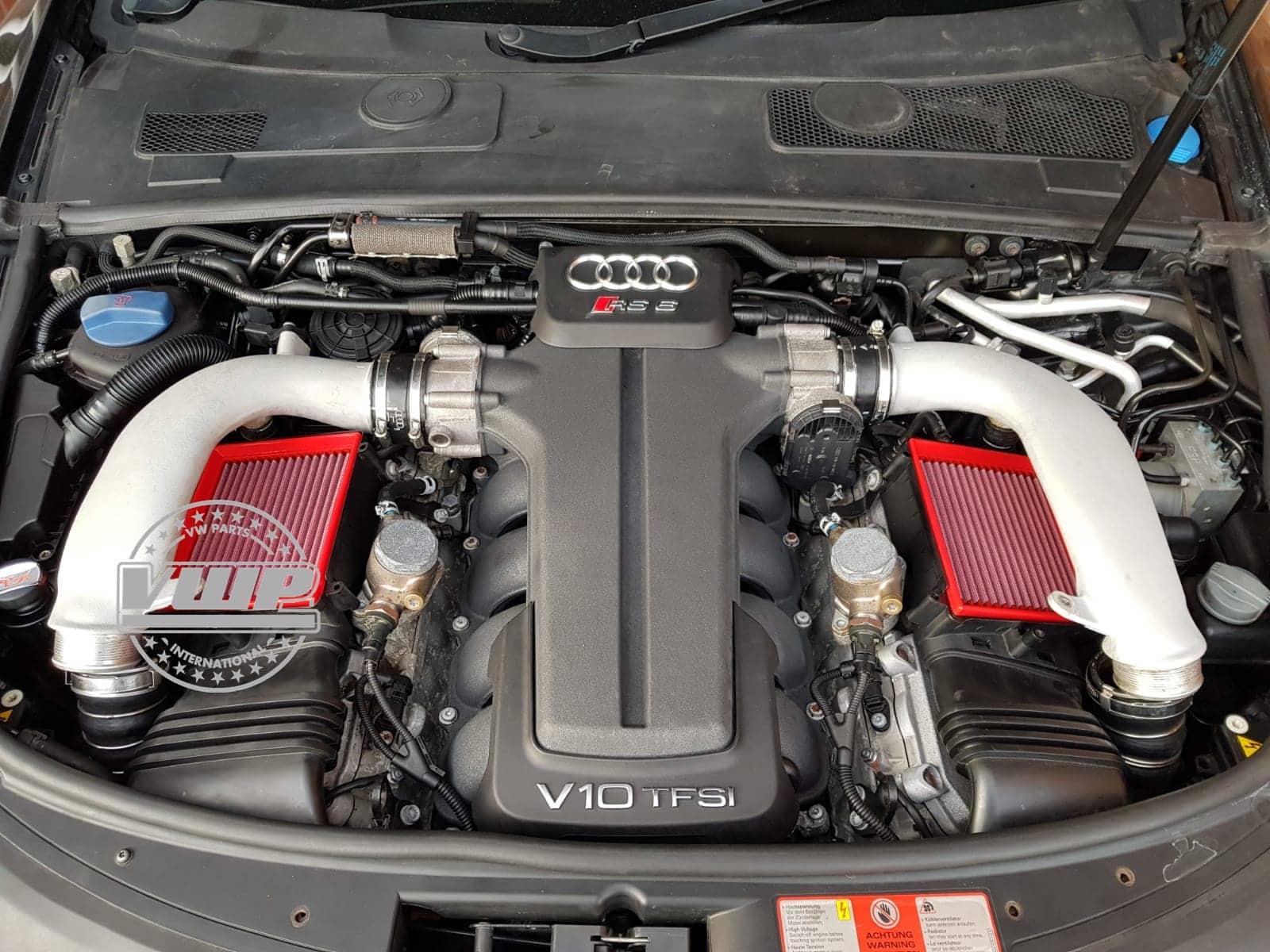 Audi RS6 5.0 V10 4F/C6 Quattro Bi-Turbo BMC Performance Air Filter Upgrade, Parts & Installation