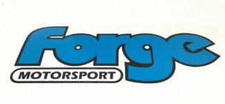 Forge Motorsport Blue Vinyl Sticker Decal Accessory VW Audi Seat Skoda R GTI VRS TTRS