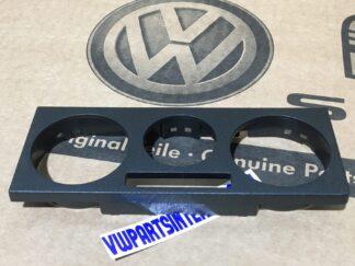 VW Transporter Caravelle T4 Heater Controls Facia Plate Surround Trim New Genuine OEM VW Part 7D1819075E