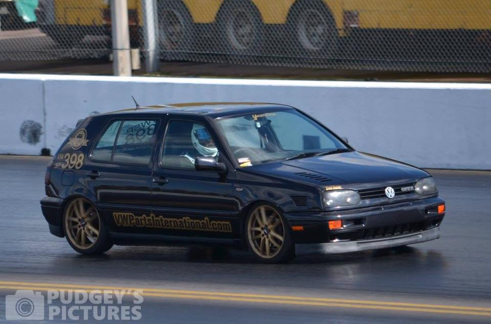 Bad Habit Racing Team out repping VW Parts International