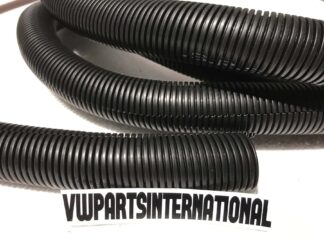 Engine Bay Wiring Loom Corrugated Conduit Pipe Hose 26mm black 1 metre VW Audi Seat Skoda