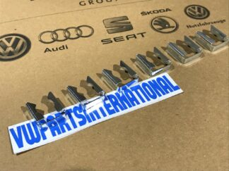 VW Golf MK3 VR6 Fuel Injector Retaining Clips x6 New Genuine OEM VW Parts