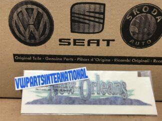 VW Golf MK3 New Orleans Special Edition Decal Sticker Inscription Emblem New Genuine NOS OEM VW Part