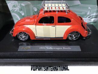Design Collection Volkswagen Beetle 1956 1:18 Model Car Toy Big Boys Toys Xmas Birthday Gift