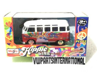 "Diecast Volkswagen Splitty VW Van Samba Bus 4.5"" Model Car Toy Christmas Xmas Birthday Gift"