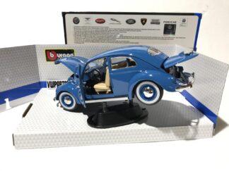 Diecast Volkswagen Kafer Beetle 1955 1:18 Model Car Toy Big Boys Toys Xmas Birthday Gift