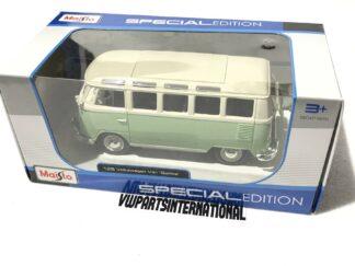 Volkswagen Van Splitty VW Bus Samba 1:25 Scale Model Owners Collectors Birthday Gift