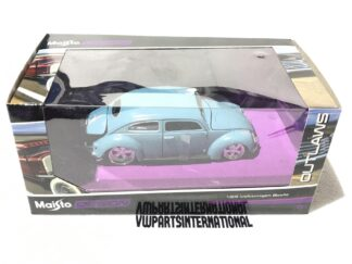 Custom Volkswagen Beetle Pinstriping Popes Nose 1:24 Model Owners Collectors Birthday Gift