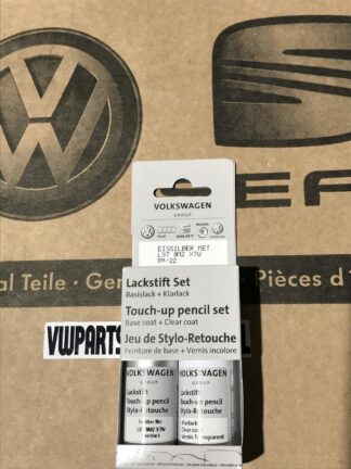 Ice Silver LX7W Genuine VW Touch Up Paint Audi Seat Skoda Scratch Stone Chip Repair