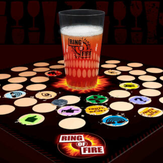 Drinking Forfeit Game 50 Challenges Lockdown Adult Family Fun Party Spirit Ring Of Fire
