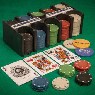 Casino Poker Games Playing Cards Chips Family Fun Table Game Lockdown Escape Toy