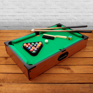 Wooden Tabletop Pool game Time Passer Family Fun Table Game Lockdown Escape Toy