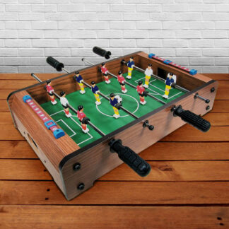 Wooden Tabletop Football game Time Passer Family Fun Table Game Toy