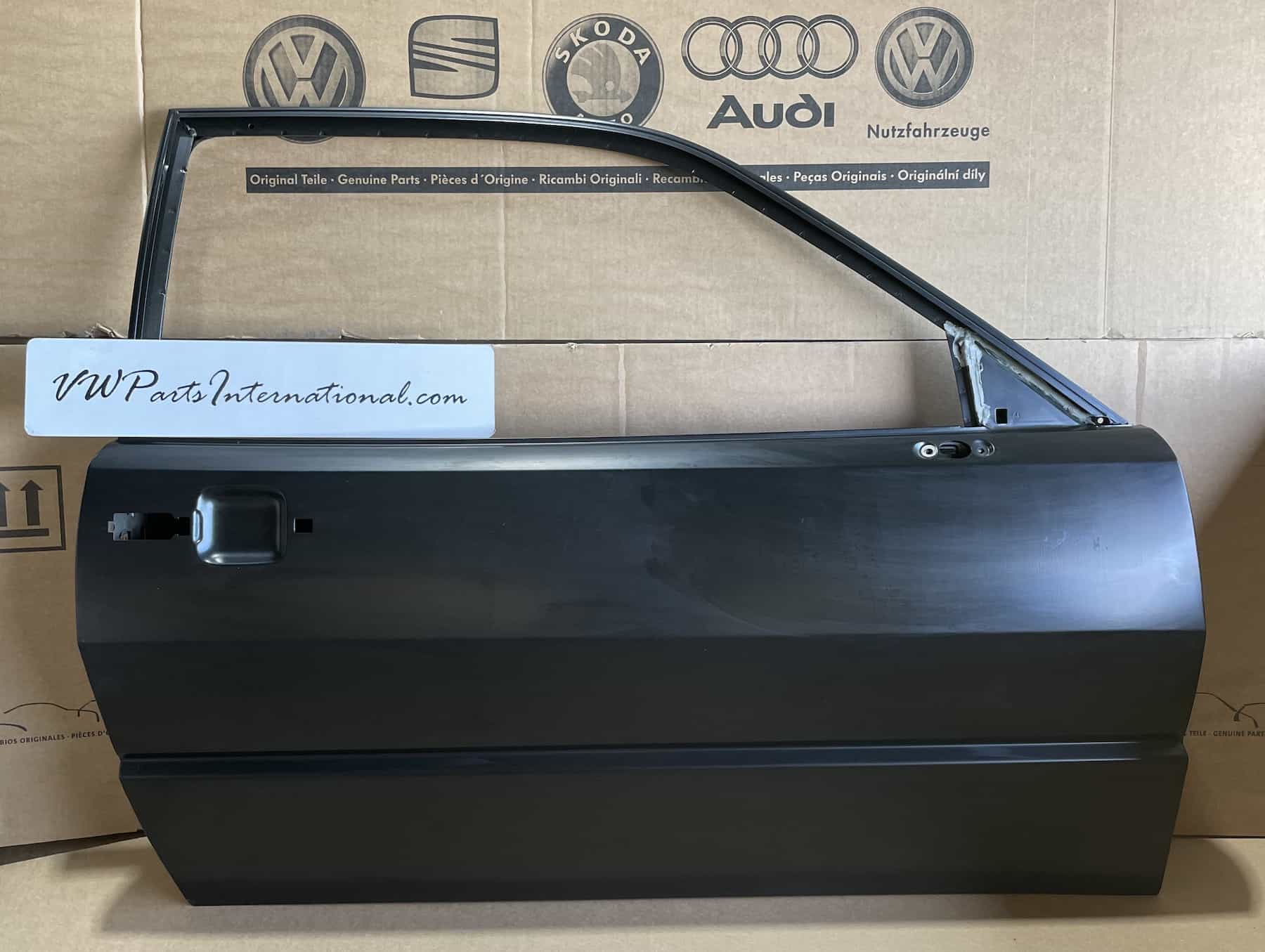 VW Corrado Front Right OS Replacement Door Brand New Genuine NOS OEM VW Part 535831052AN