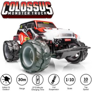 Venom RC Colossus Monster Truck Indoor Outdoor 1:10 Radio Controlled Fun Gift Present