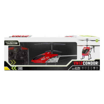 Venom RC VN12 Condor Large Outdoor Helicopter Radio Controlled Fun Gift Present