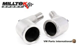 Audi RS6 RS7 C8 4.0 V8 bi-turbo Milltek Sport Performance Exhaust Large Bore Downpipes and Cat Bypass Pipes SSXAU870