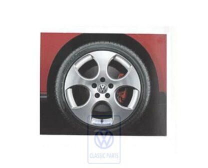 VW Golf MK5 GTI R32 Detroit 4x BBS Alloy Wheels Grey Metallic 7.5J x 18in ET51 5x112 Genuine OEM NOS 1K0601025AM16Z