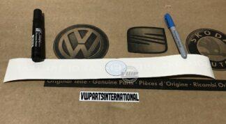 VW Golf MK7 Decal Sticker Emblem Golf Das Auto Car Of The Year 2013 New Genuine OEM VW Part