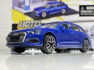 Audi A6 RS6 Avant Bburago Build your City Hotel + 1:43 Scale Car Toy Model Childs Kids Dads Gift