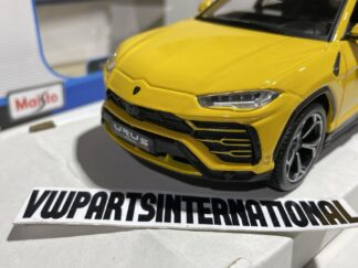 Lamborghini Urus Yellow 1:24 Scale Model Car Toy Childs Kids Dads Enthusiasts Collectors Item Gift