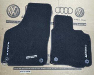 VW Scirocco MK3 R GT GTD GTS Front Carpet Floor Mats Luxury Feet Pads Genuine OEM VW Parts