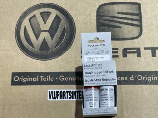 Brilliant Red LY3J Genuine VW Touch Up Paint Audi Seat Skoda Scratch Stone Chip Repair