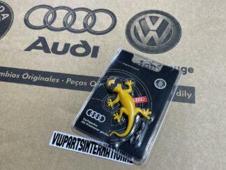 Audi RS3 RS4 RS5 RS6 TT R8 Gecko Aroma Dispenser Tropical Fruits Air Freshener Genuine New OEM Audi Votex Part