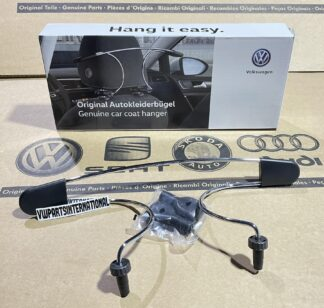 VW Golf MK3 MK4 MK5 MK6 MK7 MK8 ID Scirocco MK3 Jacket Coat Hanger Interior Hook Genuine New OEM VW Votex Part