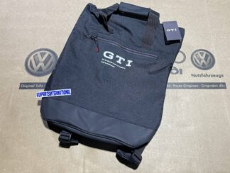 GTI Backpack Rucksack Bag Black New Genuine Votex OEM NOS Parts VW Golf MK2 MK3 MK4 MK5 MK6 MK7 Polo Lupo