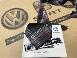 GTI Silk Tie New Genuine Votex OEM NOS Parts Gift VW Golf MK2 MK3 MK4 MK5 MK6 MK7 Polo Lupo