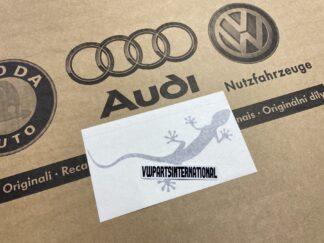 Audi RS3 RS4 RS5 RS6 TT R8 Gecko Brilliant Black Decal Sticker Logo Genuine New OEM Audi Votex Part