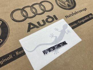 Audi RS3 RS4 RS5 RS6 TT R8 Gecko Florett Silver Decal Sticker Logo Genuine New OEM Audi Votex Part