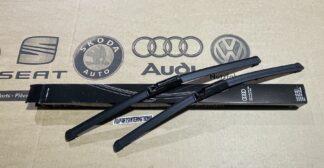 Audi A6 S6 RS6 4F Front Windscreen Wiper Blades Genuine New OEM Audi Part RHD