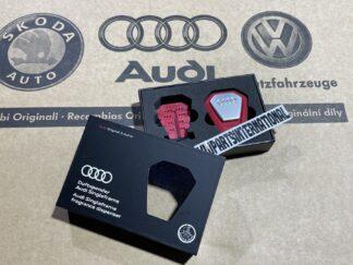 Audi RS3 RS4 RS5 RS6 TT R8 Singleframe Mediterranean Fragrance Aroma Dispenser Red Genuine New OEM Audi Votex Part Gift