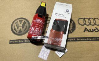 VW Golf MK1 MK2 MK3 MK4 Red Fire Extinguisher Safety Tool New Genuine OEM VW Votex Part
