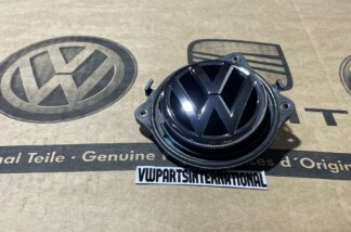 VW Golf MK1 MK2 MK3 MK4 Tailgate Boot Trunk VW Logo Handle Upgrade New Genuine OEM VW Votex Part