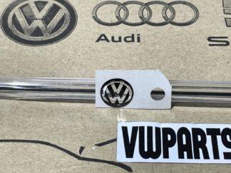 Volkswagen VW Flip Key Logo Inscription Badge Black New Genuine OEM VW Part