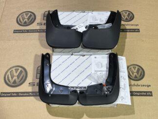 VW Scirocco MK3 Front & Rear Mud Flaps Rain Splash Guards New Genuine OEM VW Votex Accessories