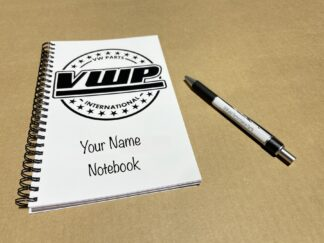 VWPI Writing Notebook Notepad & Pen Ideal Gift For Our OEM & Performance Parts Fans & Customers
