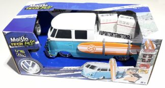 Volkswagen VW Splitty Type 2 Cab Pick Up with Surf Board 1:16 RC Radio Controlled Model Car Toy Dads Kids Birthday Gift Present