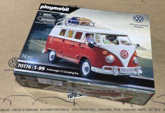 Volkswagen T1 Splitty Camper Van Playmobil Model 74pcs set VW Car Toy Childs Kids Dads Enthusiasts Collectors Item Gift