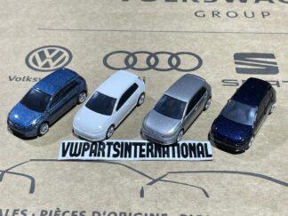 Volkswagen Golf MK7 1/64 Scale Model VW Car Toy Childs Kids Dads Genuine OEM Zubehör Accessory Gift