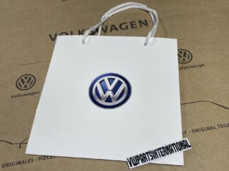 Volkswagen Logo Roundel Gift Bag Accessory for New NOS Genuine OEM Parts Accessories