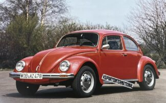 VW Beetle Picture High Quality Photo Frame Worthy Limited Nostalgic Gift