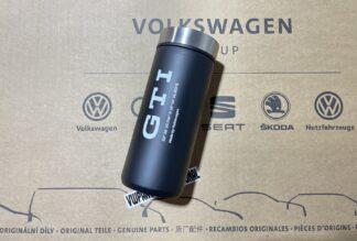 Volkswagen GTI Thermo Mug Travel Flask Coffee Cup New Genuine OEM Zubehor Gift VW Golf MK1 MK2 MK3 MK4 MK5 MK6 MK7 MK8