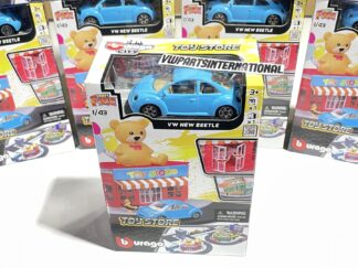 Build your City Toy Store Volkswagen Beetle Bburago Street Fire 1:43 Scale Model Toy Childs Kids Dads Birthday Present Gift